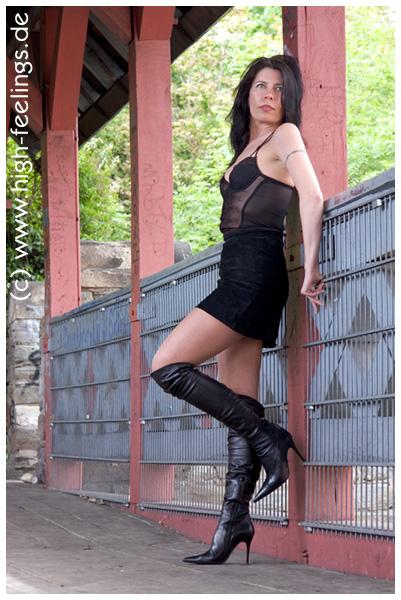 high heels overknees 10 cm absatz. Black Bedroom Furniture Sets. Home Design Ideas