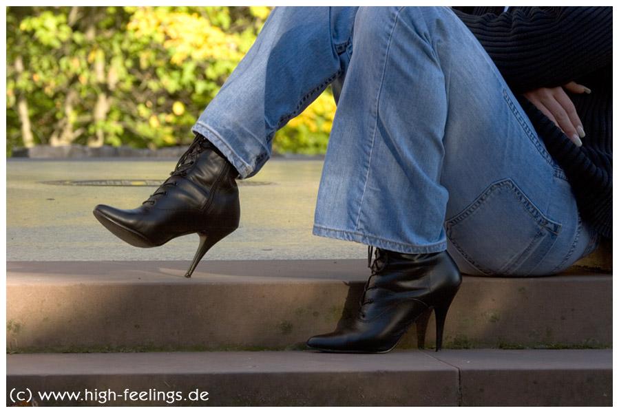 high heels feeling: